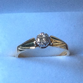 Vintage diamond ring - Fine Jewelry