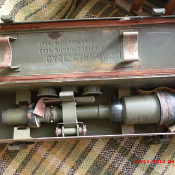 Was my original WWII M69C 57mm M1 Sniper Anti-Tank Gun Telescope