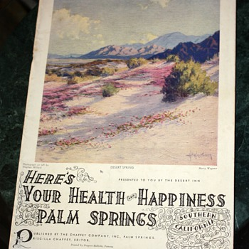 Here's Your Health and Happiness - Palm Springs  - Paper