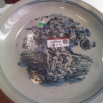 Bicentennial Pottery Plate - Pottery