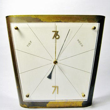 ORIGINAL GERMAN BAUHAUS BAROMETER - Art Deco