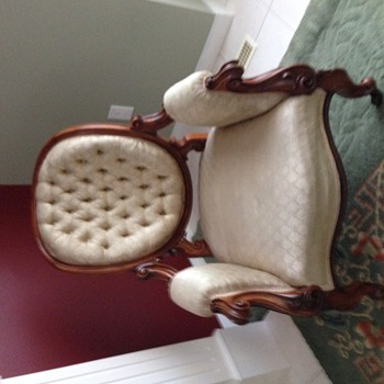 Vinatage, antique chair, circa 1847 or earlier