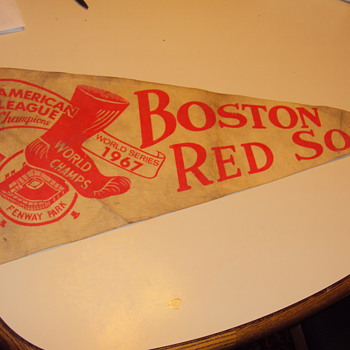 1967 world series red sox fenway park pennant