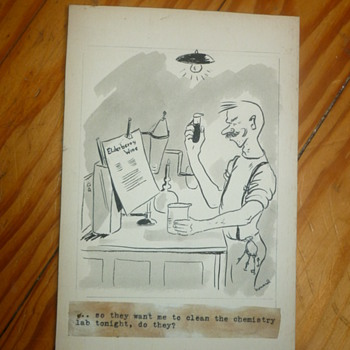 1940s Original Comic Art - Paper