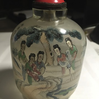 Interior painted snuff bottle
