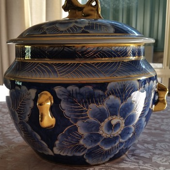 Vintage Lidded Dish with Lid