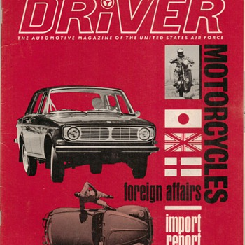 USAF Driver Magazine - September 1967 Issue - Paper