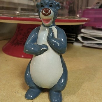 Baloo figurine - Figurines