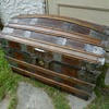 Antique Leather Trunk Restored