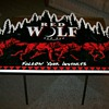 Red Wolf red ale sign
