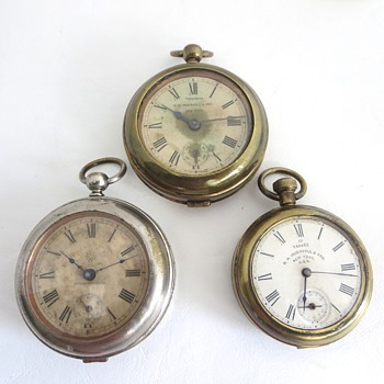 R. H. Ingersoll & Bro. Early Dollar Watches - Pocket Watches