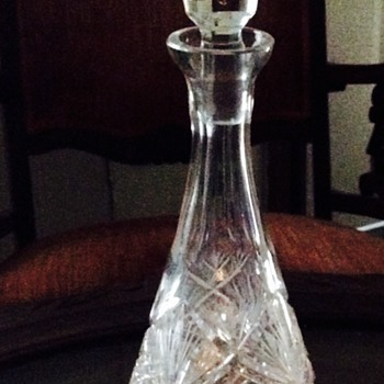 Mystery Crystal Decanter
