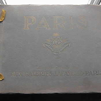 Paris Exposition Book ? Unknown Year?
