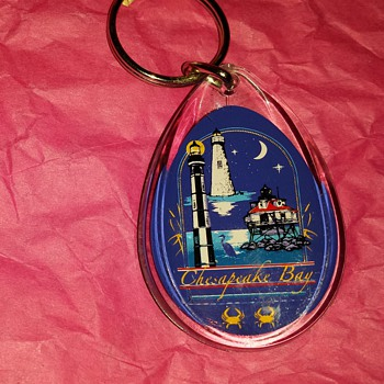 Chesapeake Bay Lighthouses Key Chain... - Advertising