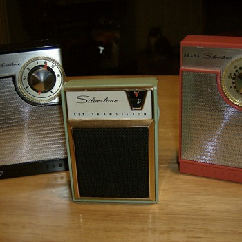 Several Small 60's Transistor Radios