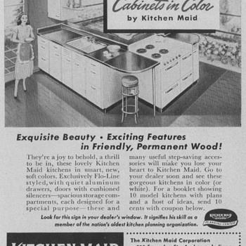 1950 Kitchen Maid Advertisements - Advertising