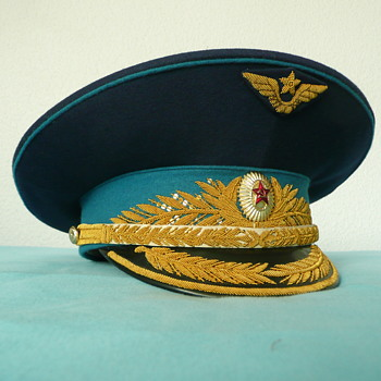 Soviet Parade Visor Cap of an Air Force General
