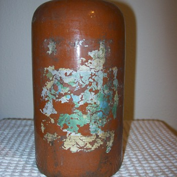antique foriegn stoneware bottles - Bottles