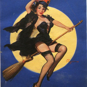 Old Halloween Items.... - Postcards
