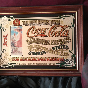 hi all ive had this for a little while not sure if its worth anything just wondering - Coca-Cola