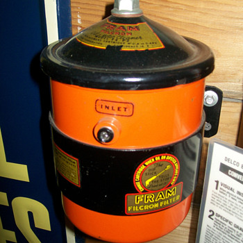 New Old Stock Fram external oil filter - Petroliana