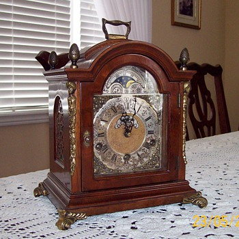 John Thomas London table clock - Clocks