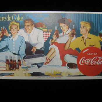 Coca Cola Canadian Lithos - Coca-Cola