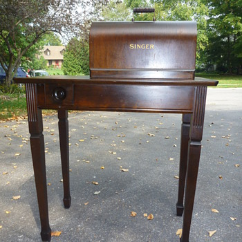 Singer Combination Cabinet No.301 - Sewing