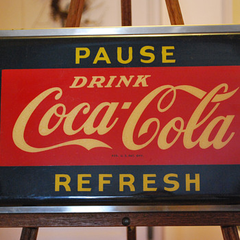 Coca Cola  electric sign