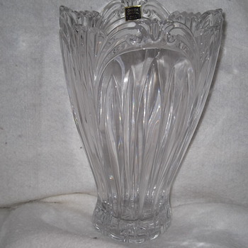Oneida Crystal(Germany Vase - Glassware