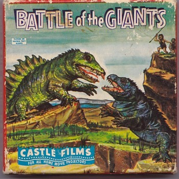 Castle Films Battle of the Giants 8mm Film - Movies