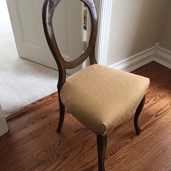 English small dining chair (?)