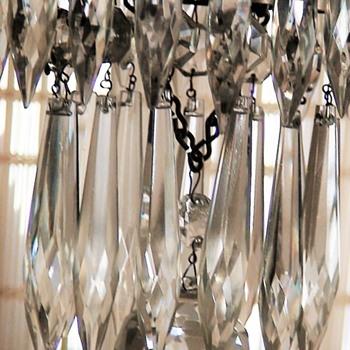 Small Waterfall Chandelier - Glassware