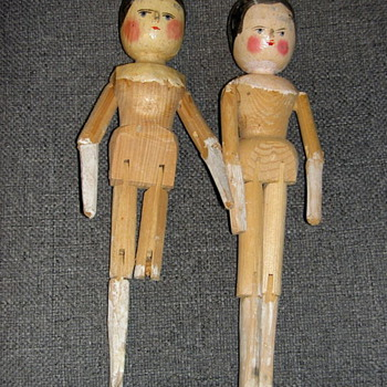 Another Peg Wooden Doll  - Dolls