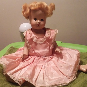 "15"" composition doll no markings - Dolls"