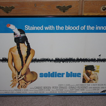 Soldier Blue. UK  poster