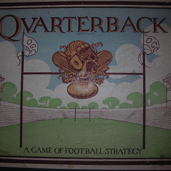 """Quarterback"" board game - Games"