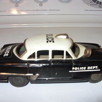 TIN POLICE CAR - Model Cars
