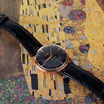1960 Longines Flagship, 30L, solid 18kt rose gold - Wristwatches