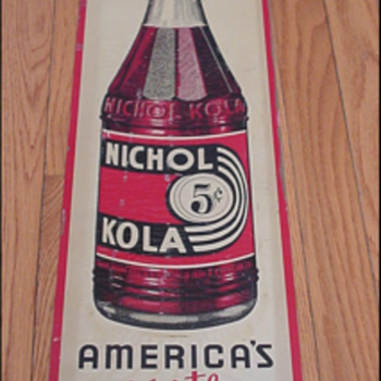 Nichol Kola Sign - Advertising