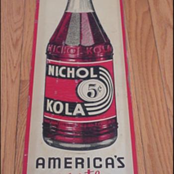 Nichol Kola Sign - Advertising