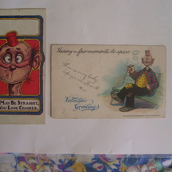 "COMIC STRIP CHARACTER ""HAPPY HOOLIGAN"" IN HIS LITTLE TIN CAN HAT - Postcards"