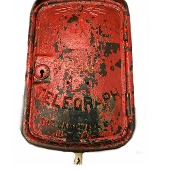 Gamewell Co. Fire/Police Telegraph Box - Firefighting