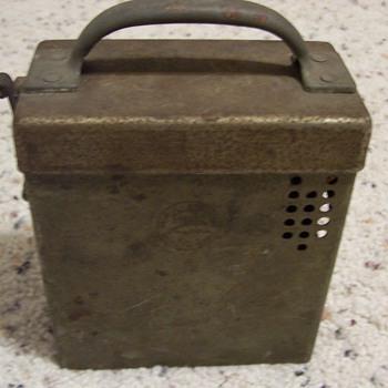 Vintage Thomas Edison Portable Item - Military and Wartime
