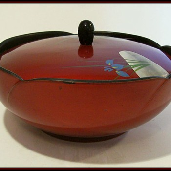 Japanese - Lidded Candy Bowl
