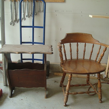 more stuff from the attic - Furniture