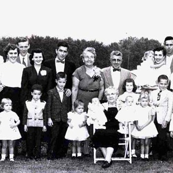 1956 - Family Reunion Photograph