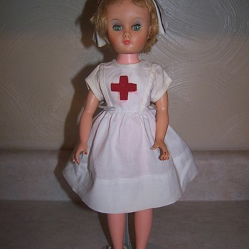 Red cross nurse doll
