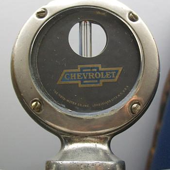 1920's Chevrolet moto-meter - Classic Cars