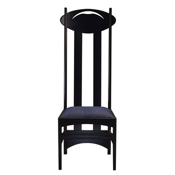 My Cassina edition Charles R. Mackintosh chairs!